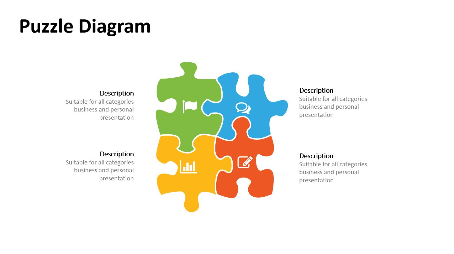 Jigsaw puzzle pieces powerpoint templates powerslides jigsaw puzzle pieces powerpoint templates toneelgroepblik Choice Image