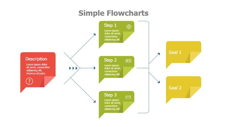 PowerSlides  Flow Chart Templates