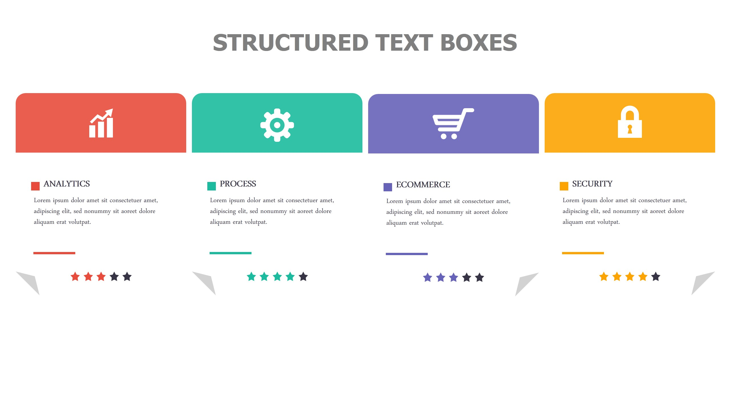 Structured Text Boxes