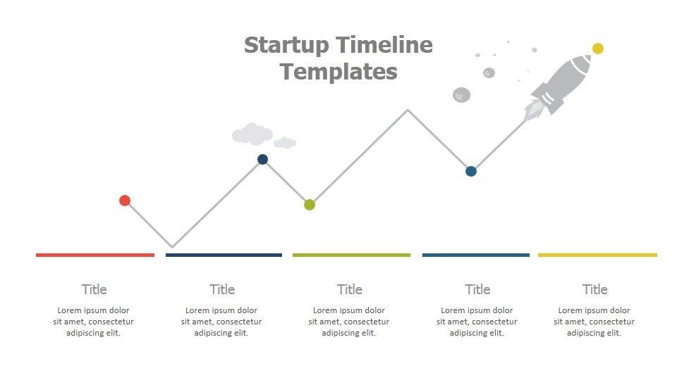 Startup Timeline Templates