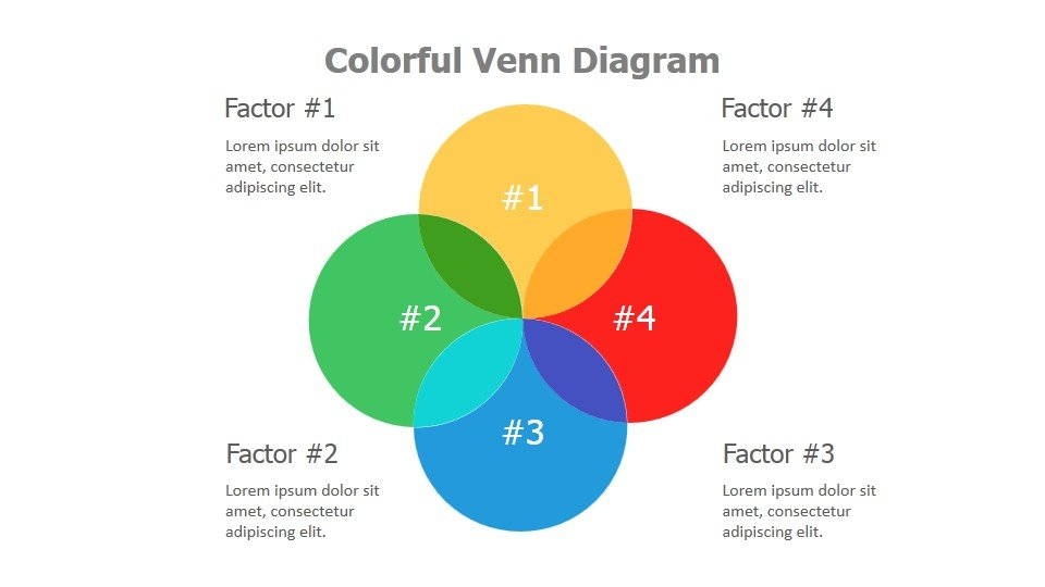 Colorful Venn Diagrams