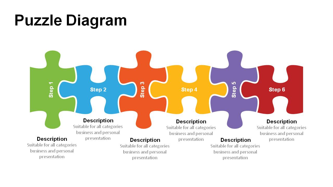 Jigsaw puzzle pieces powerpoint templates powerslides jigsaw puzzle pieces powerpoint templates ccuart Image collections