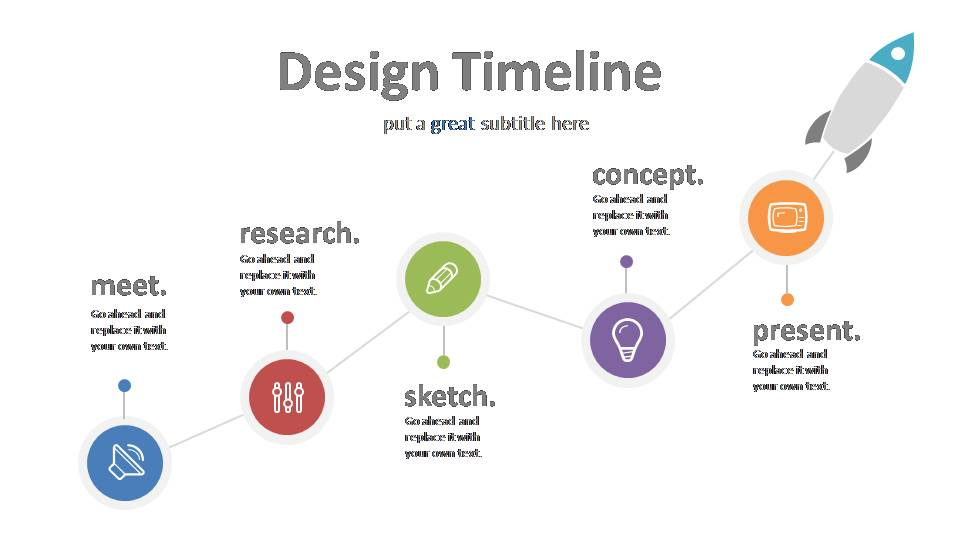 Design Process Timeline Powerslides