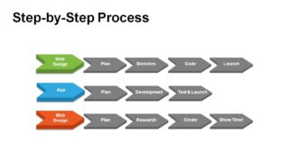 Horizontal Steps Templates