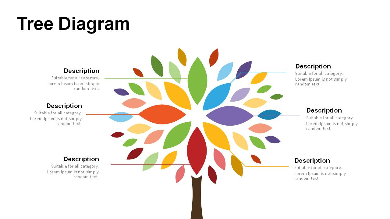 Tree Diagrams Powerpoint Templates