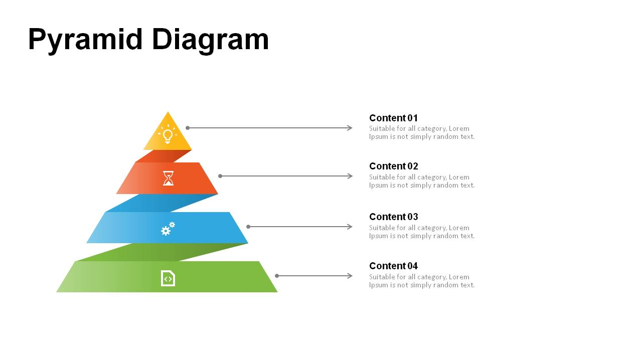 3D Pyramid Diagram Templates - Powerslides
