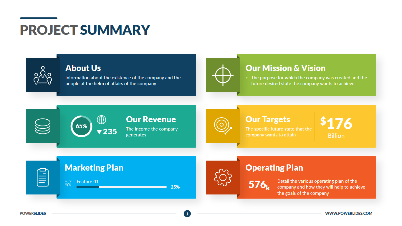 Template Executive Summary from www.powerslides.com