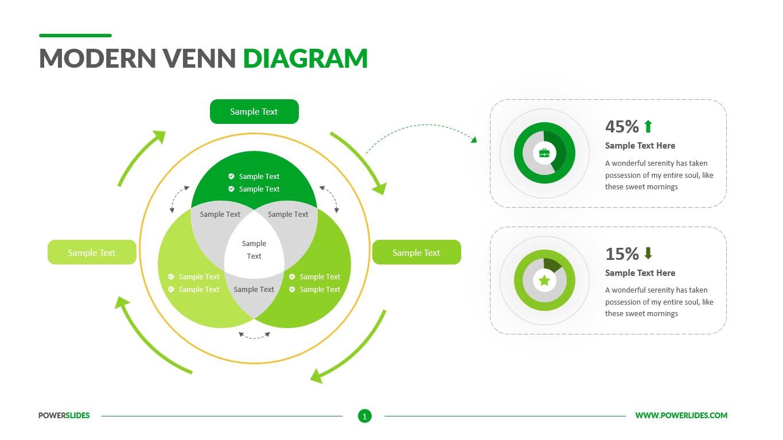 Modern Venn Diagram