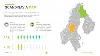 Scandinavian Countries Map
