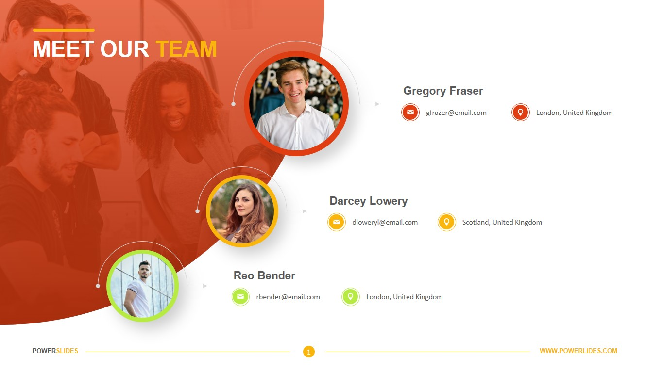 Meet The Team Template