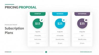 Pricing Proposal